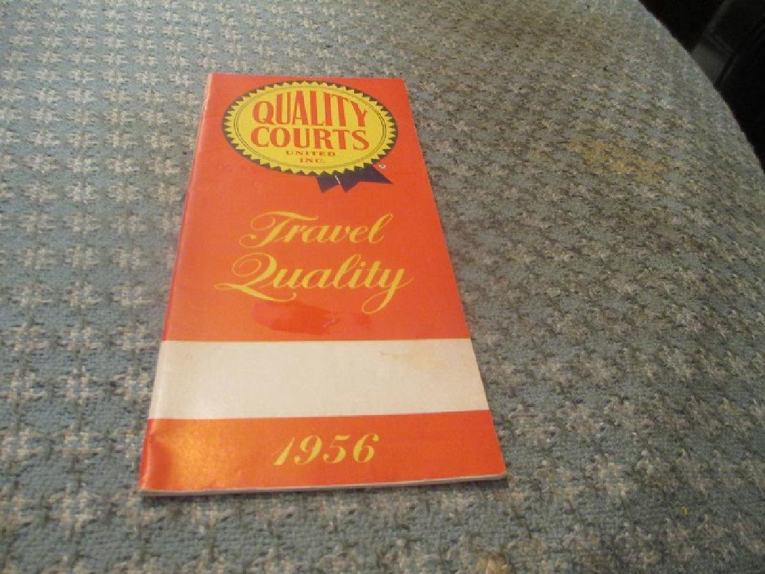 Best Western/ Quality Courts 1956 U.S, Motel Directory