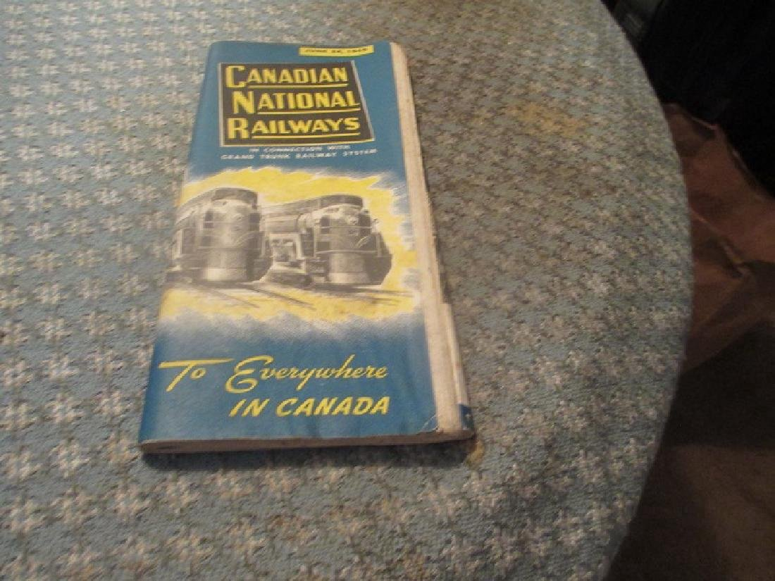 Canadian National Railways 6/1945 Public Timetable