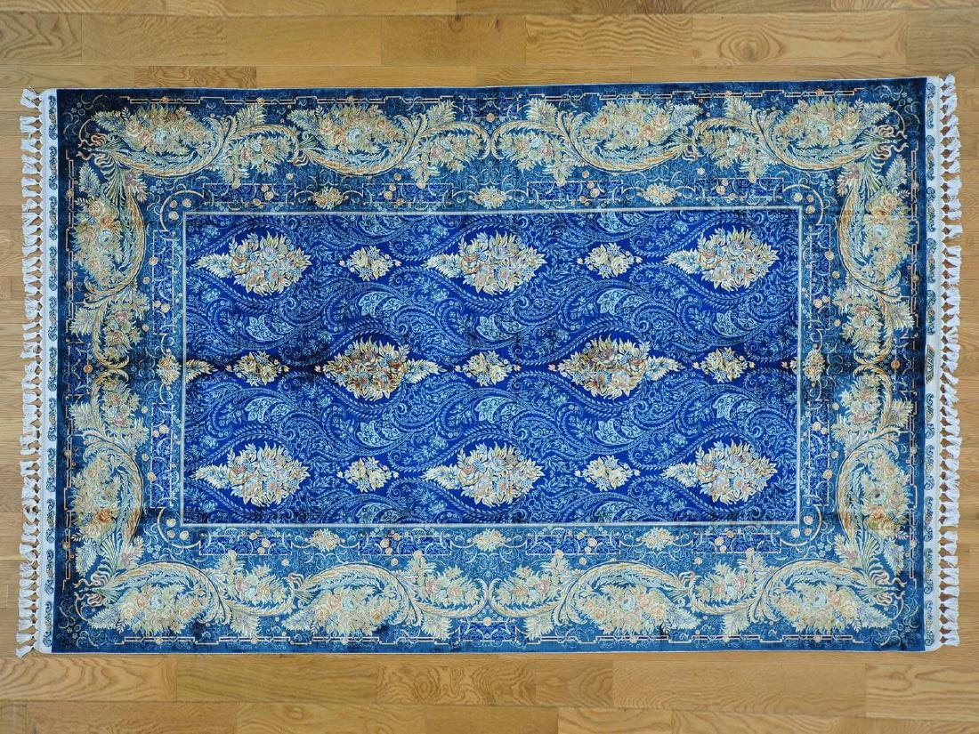 ESFAHAN ORIENTAL HAND-KNOTTED RUG