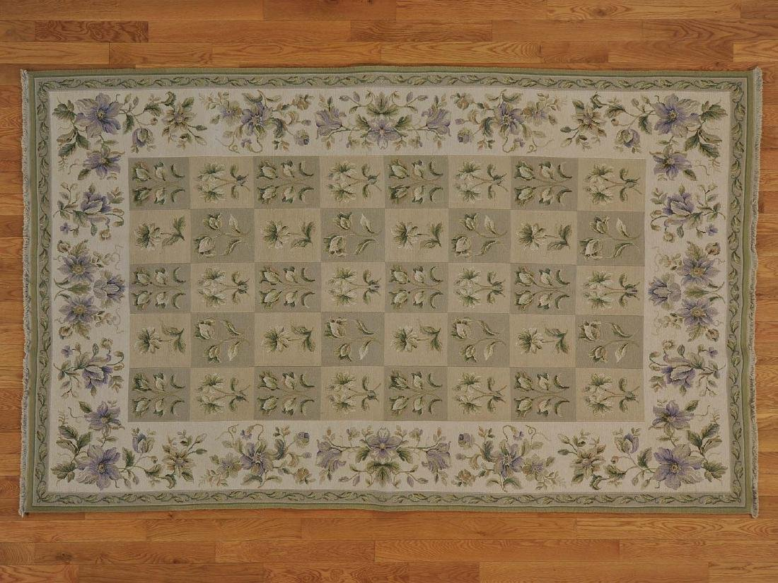 SOUMAK EURO STYLE ORIENTAL FLAT WEAVE HAND-KNOTTED RUG