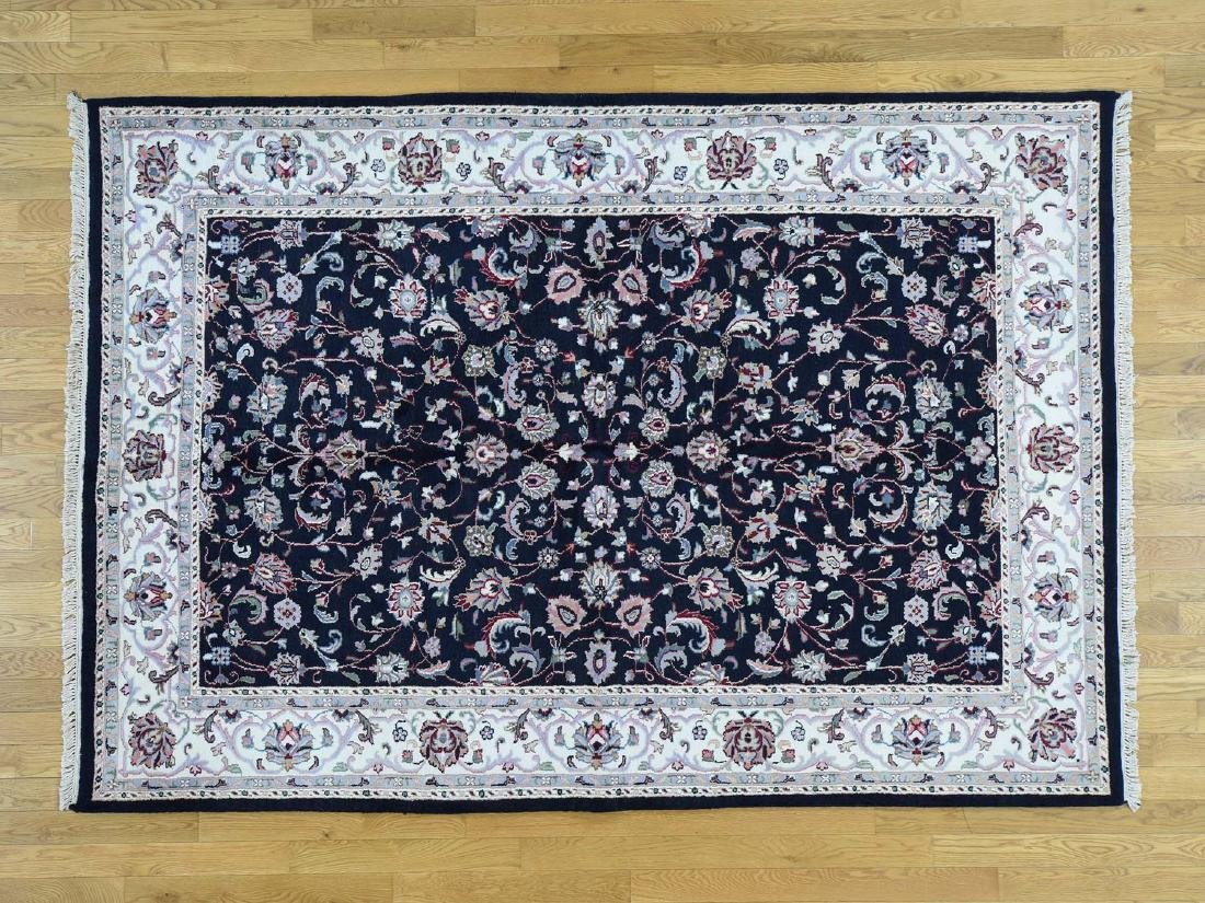 INDO KASHAN ORIENTAL HAND-KNOTTED RUG