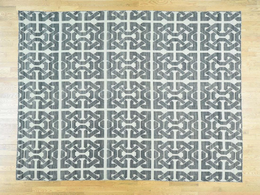 KILIM ORIENTAL HAND-KNOTTED REVERSIBLE FLAT-WEAVE RUG