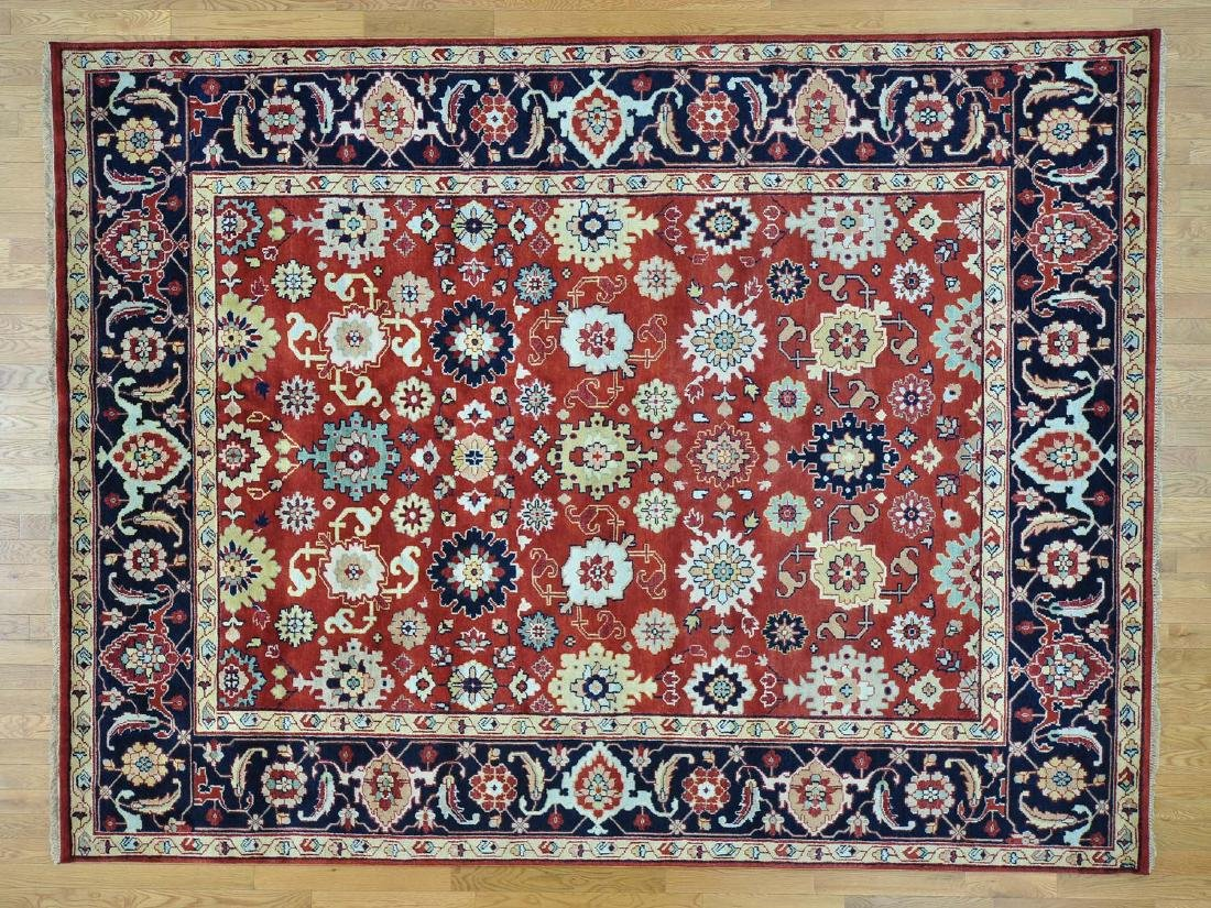 MAHAL ORIENTAL HAND-KNOTTED RUG