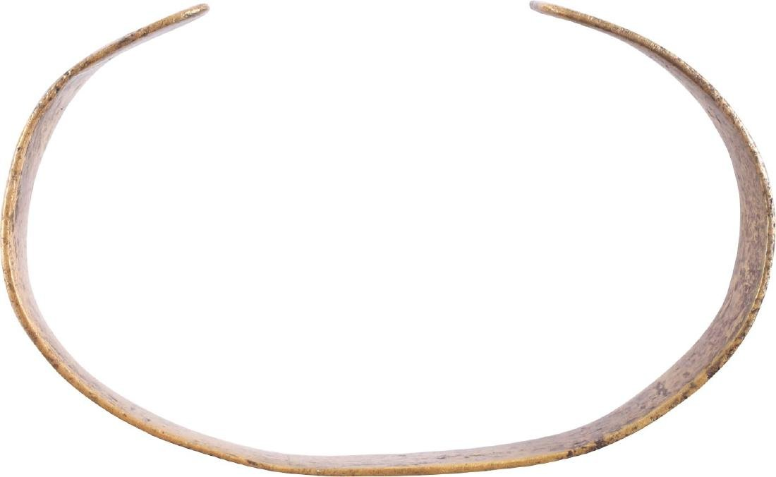 RARE ANCIENT VIKING BRACELET 10th CENTURY - 2