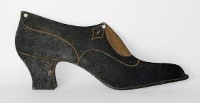 Antique Ladies Shoe Trade Sign