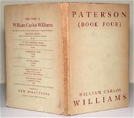Paterson, Book Four, W.C. Williams, First Edition