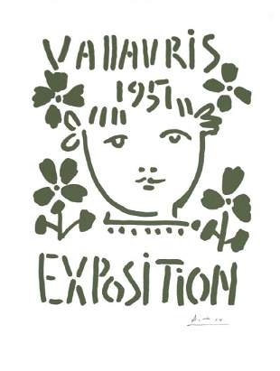 Pablo Picasso: Vallauris Lithograph Poster