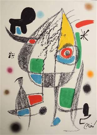 Joan Miro: Maravillas con Variaciones Plate 20