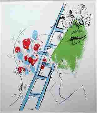 Marc Chagall: Echell Lithograph
