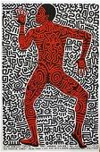 Keith Haring: Into 84: Tony Shafrazi Gallery Poster