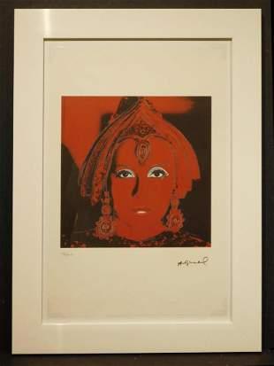 Andy Warhol Greta Garbo Chromolithograph