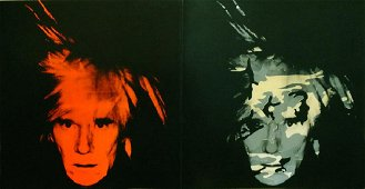Andy Warhol: Double Self Portrait Card - SIGNED