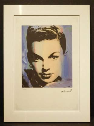 Andy Warhol Judy Garland Rainbow Chromolithograph