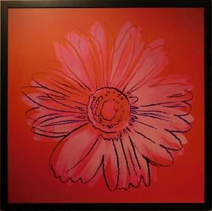 Andy Warhol: Pink Daisy Digital Print