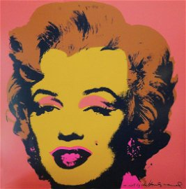 Andy Warhol: Marilyn, Pink - SIGNED