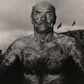 Diane Arbus - Tattooed Man 1970