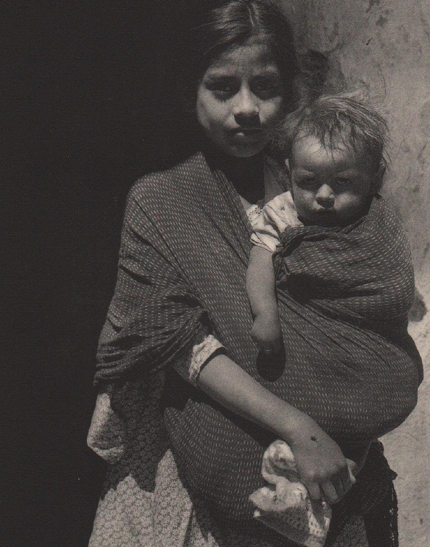 ANTON BRUEHL - Mother and Child of Taxco