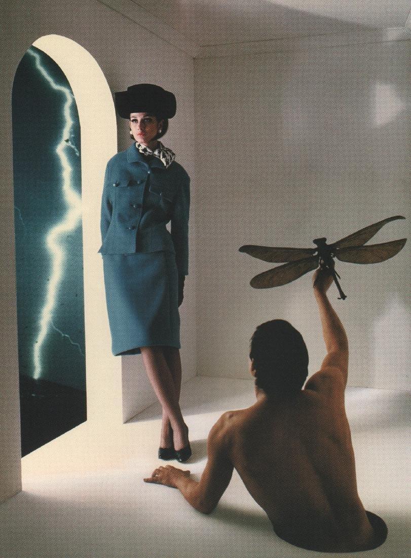MELVIN SOKOLSKY - Surreal Fashion 1964