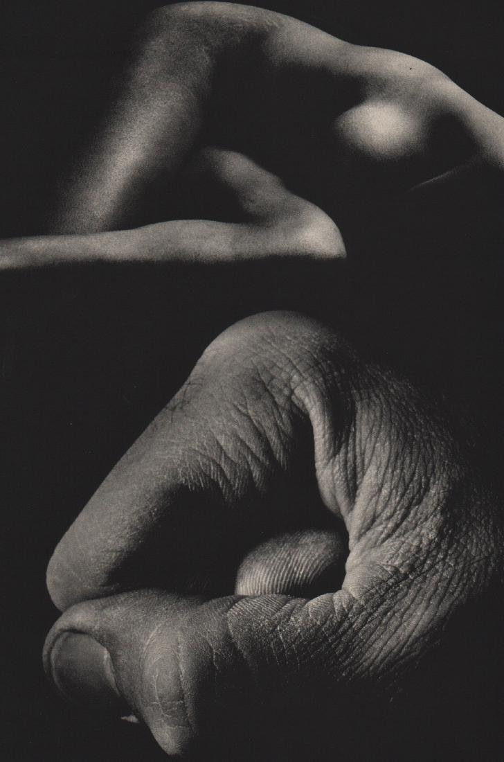 JERRY UELSMANN - Nude with Fist