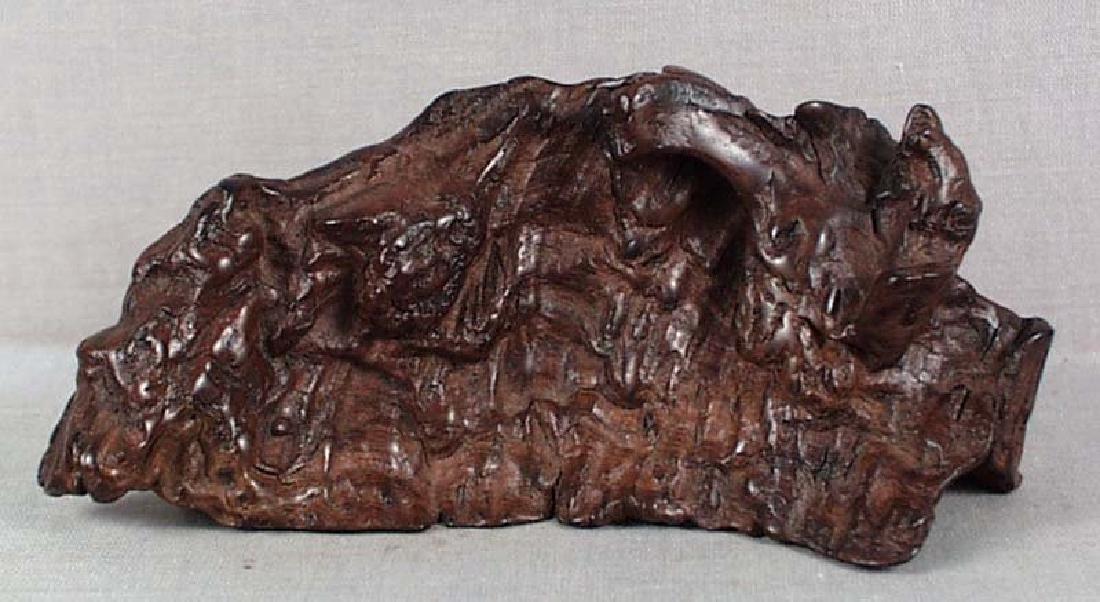 Antique Chinese Scholar Rock Rootwood Brushrest