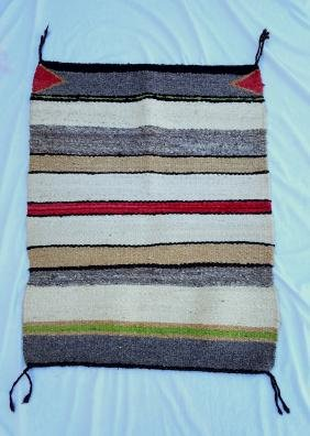 Navajo Saddle Blanket Circa 1940's