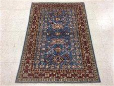 Afghan Kazak Wool Rug