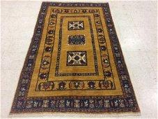 Gabbeh Kazak Design Wool Rug