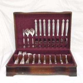 Georg Jensen Acanthus Sterling Silver Flatware Set