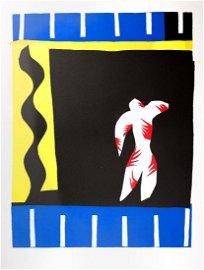 Henri Matisse: The Clown, Lithograph