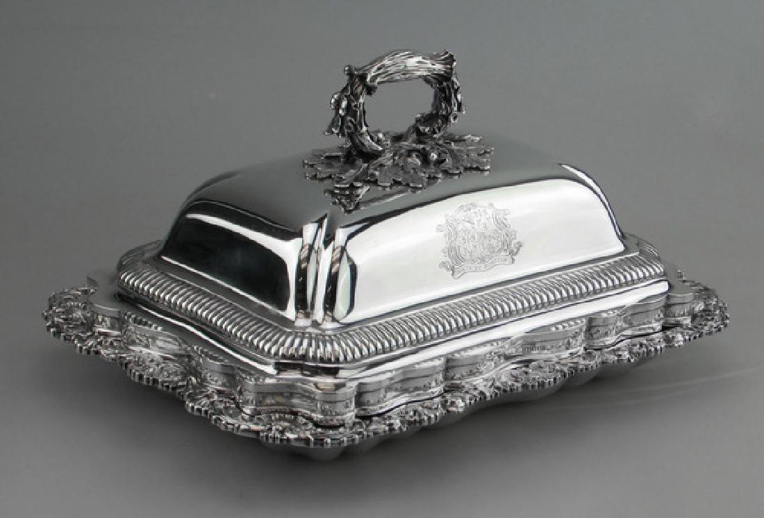 Antique Georgian Paul Storr Sterling Silver Entree Dish