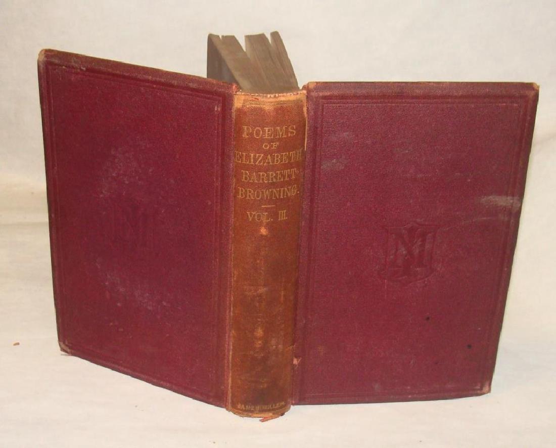 Browning: Poems of Elizabeth Barrett Browning Vol. 3