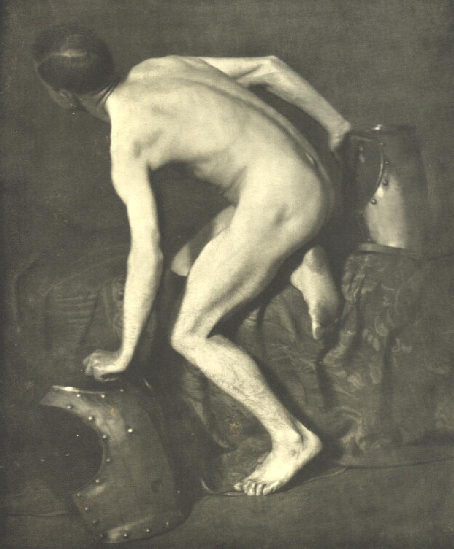 FRIEDRICH FRANZ BAUER - Nude Study