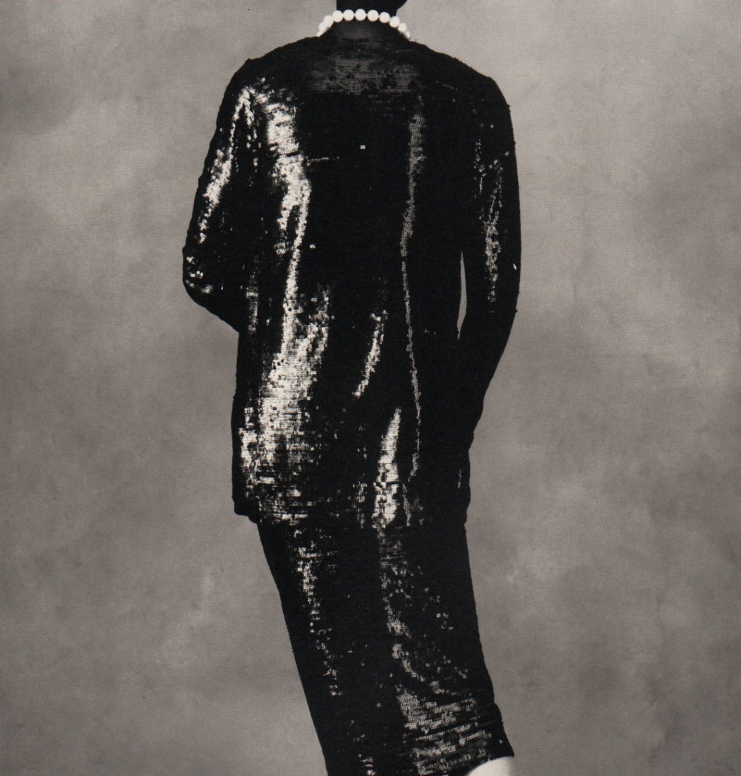 IRVING PENN - Chanel Sequined Suit