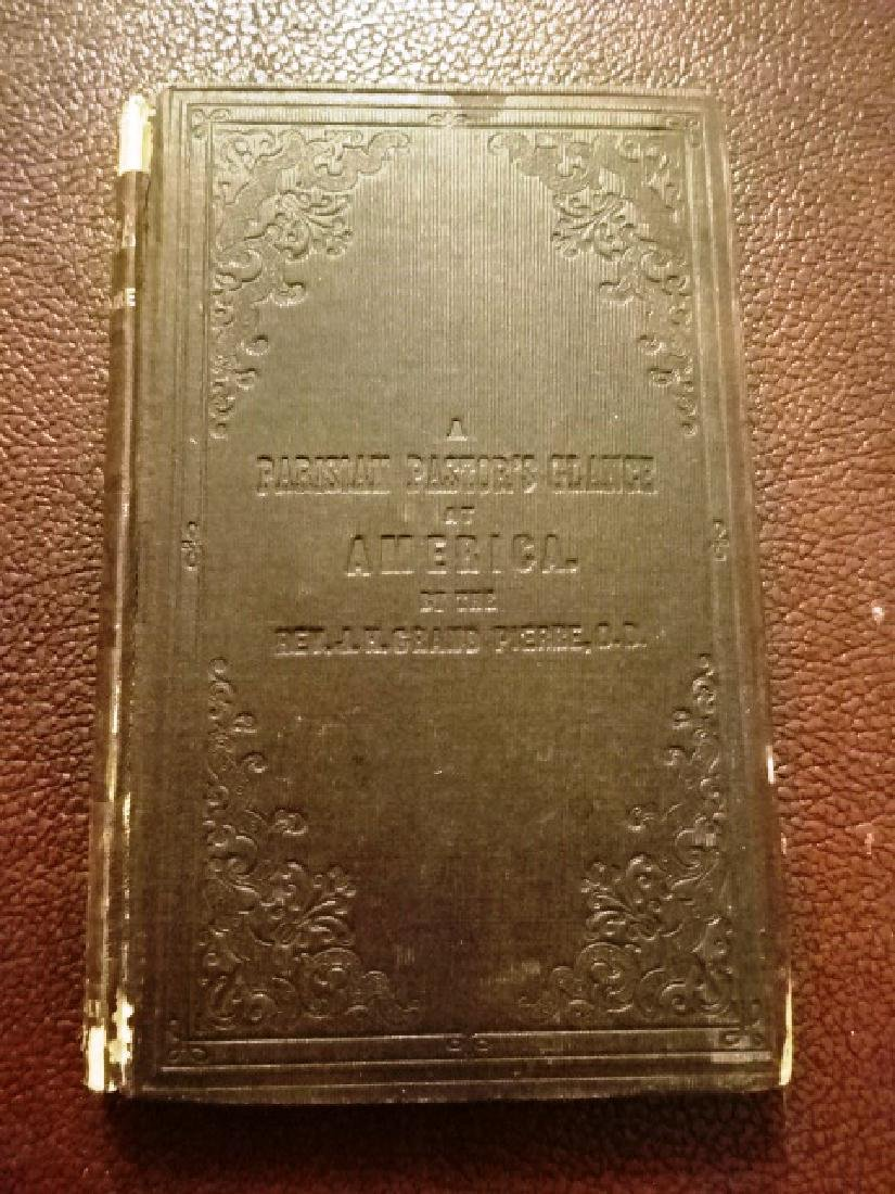1854 Parisians Pastors Glance of America