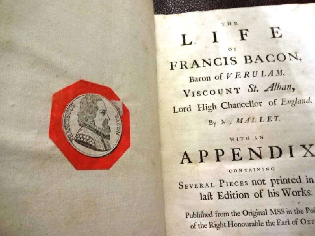 1760 Folio The Life of Sir Francis Bacon - 2