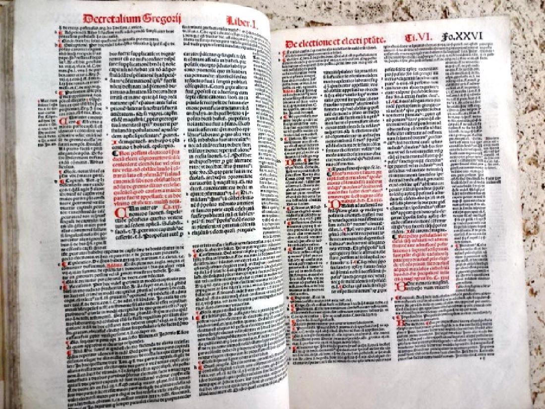 1510 Decretales- Pope Gregory I, prntdBerthold Rembolt - 3