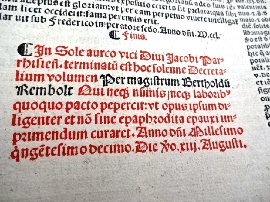 1510 Decretales- Pope Gregory I, prntdBerthold Rembolt - 6