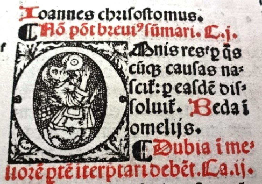 1510 Decretales- Pope Gregory I, prntdBerthold Rembolt - 7
