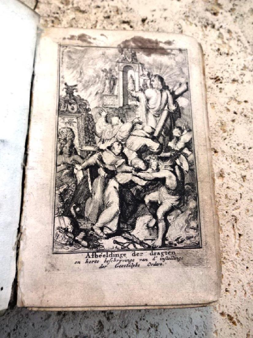 1688 Adriaan Schoonebeek Book + Eighty Eight Engravings - 3
