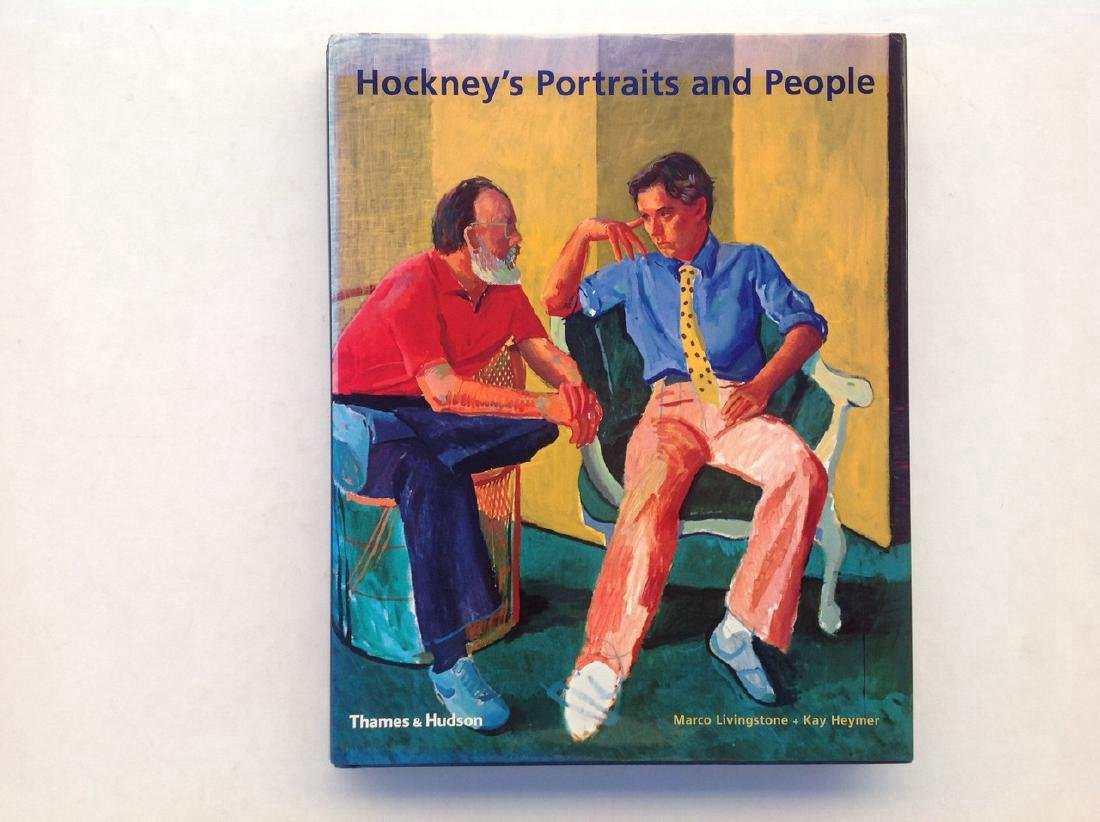 Hockney's Portraits & People, Livingston & Heymer