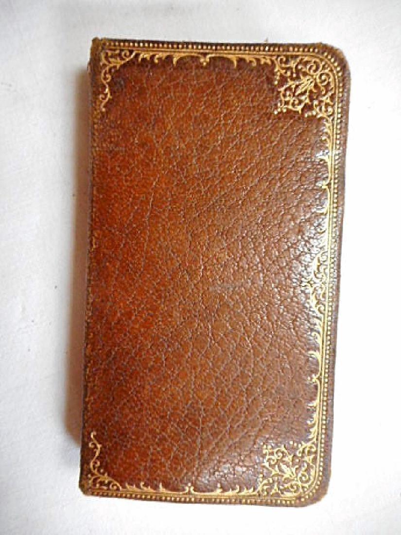 Minature Prayer Book French 19th Century