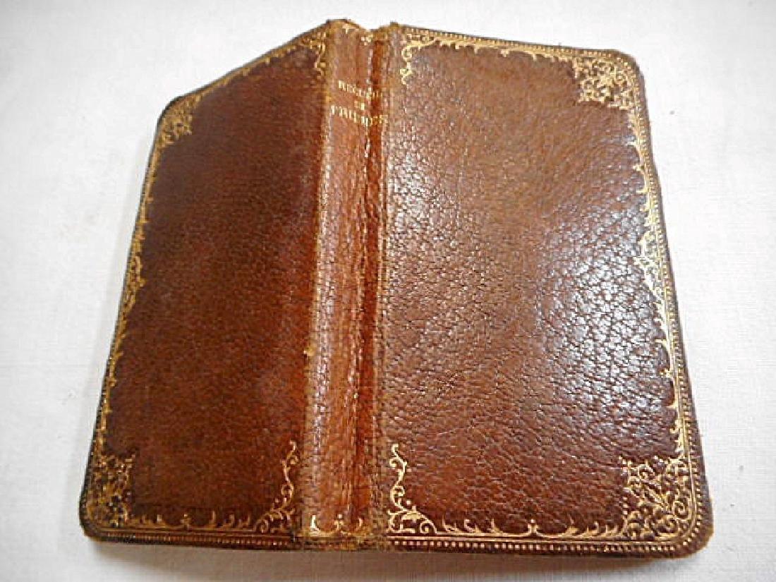Minature Prayer Book French 19th Century - 2