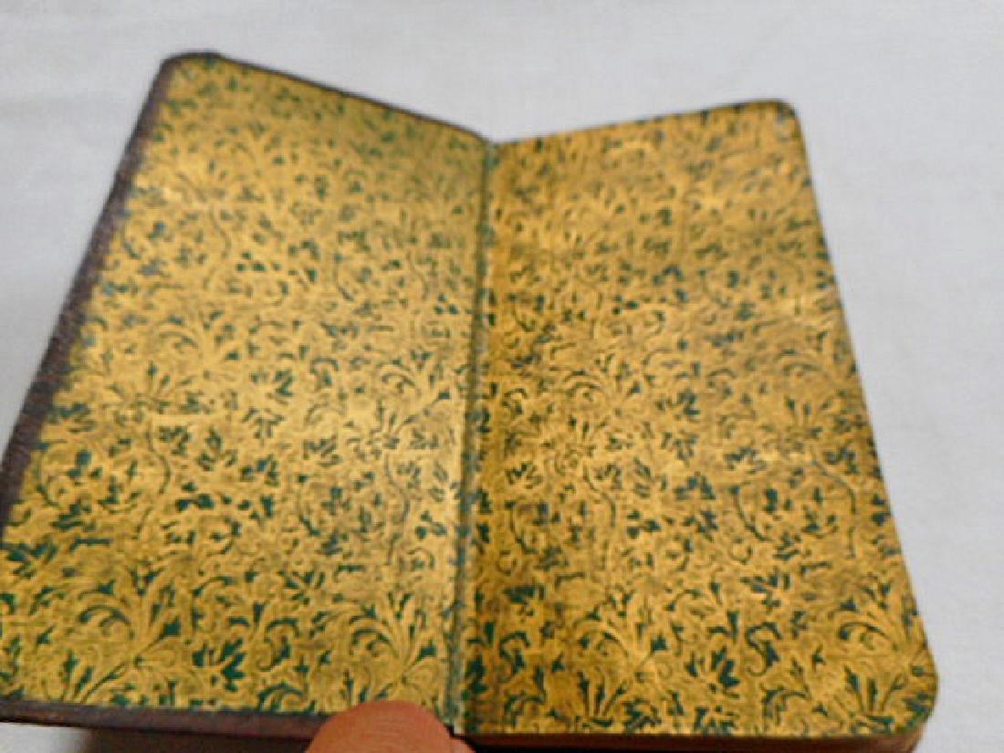 Minature Prayer Book French 19th Century - 4