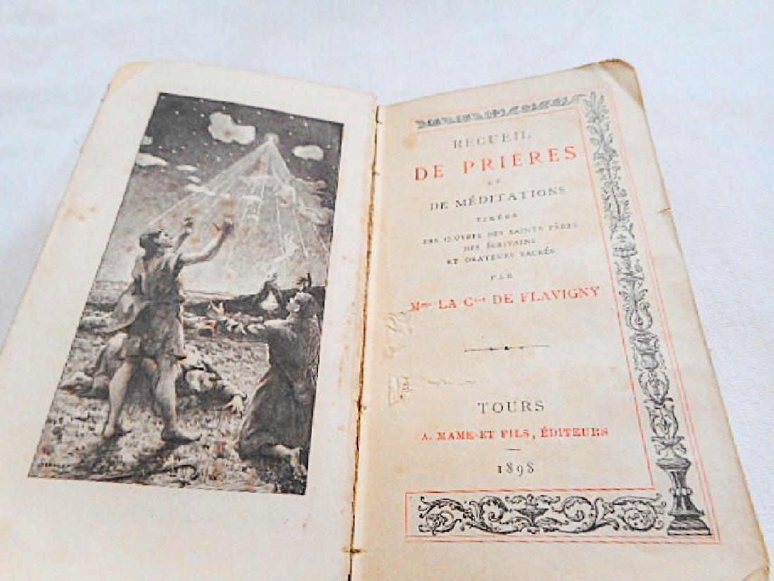 Minature Prayer Book French 19th Century - 5