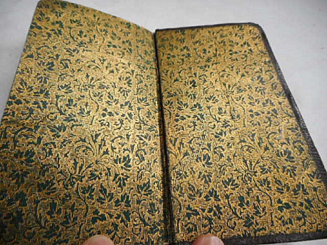 Minature Prayer Book French 19th Century - 7