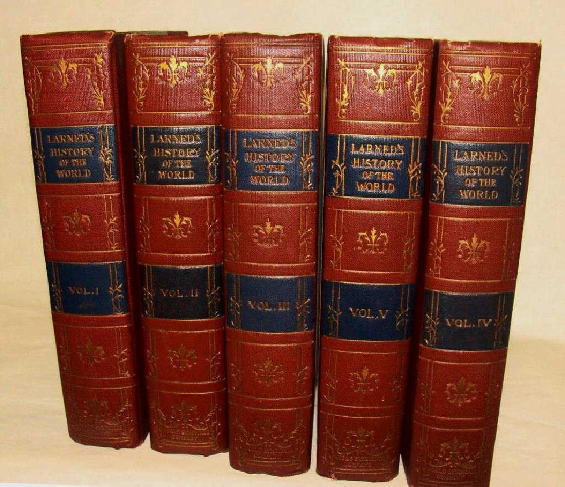 Larned's History of the World, 5 Volume Set, 1915