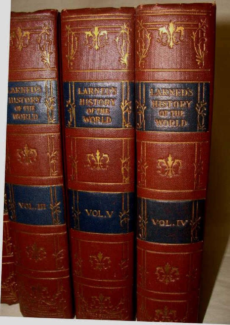 Larned's History of the World, 5 Volume Set, 1915 - 2