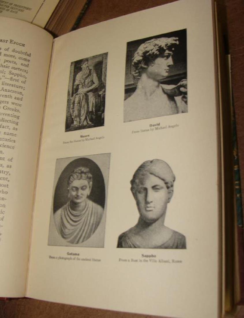 Larned's History of the World, 5 Volume Set, 1915 - 6