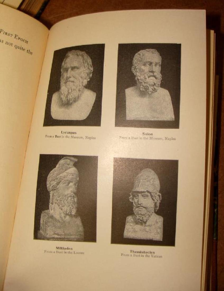 Larned's History of the World, 5 Volume Set, 1915 - 7