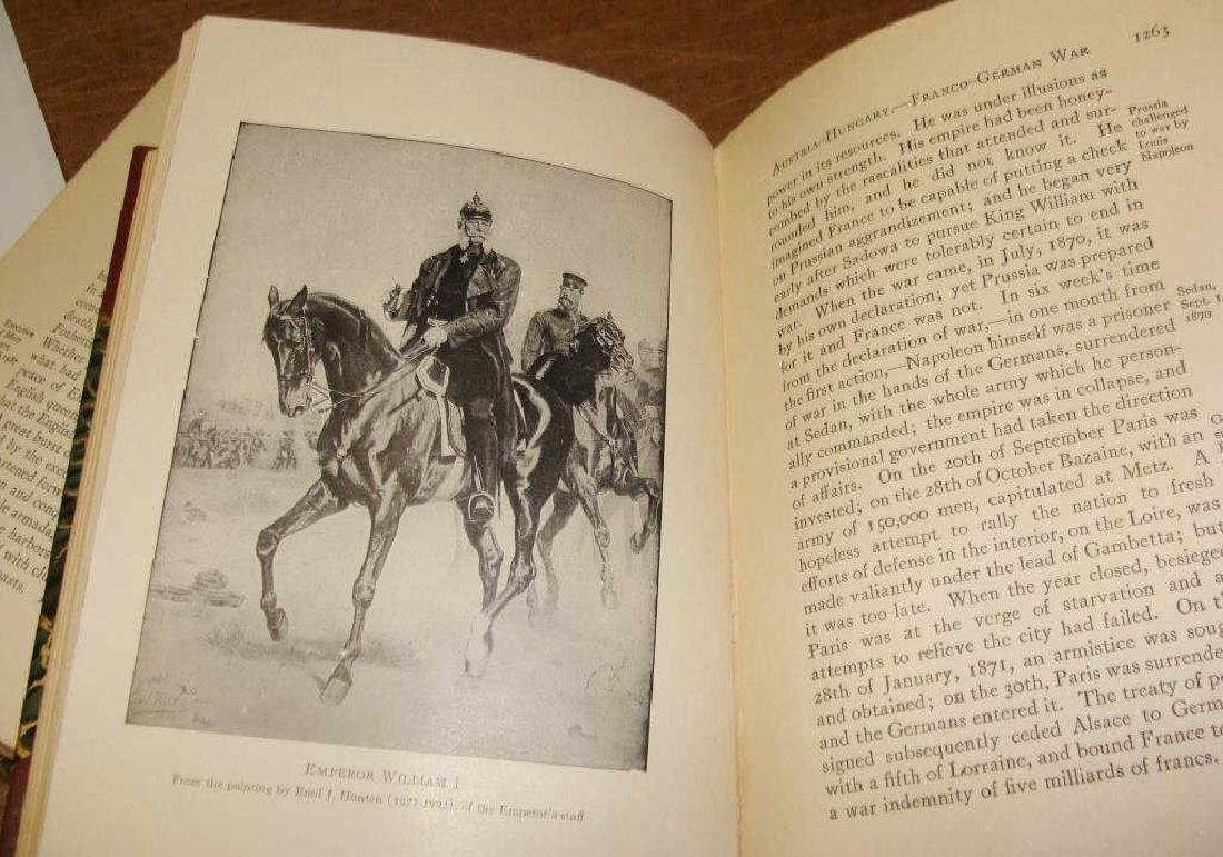 Larned's History of the World, 5 Volume Set, 1915 - 8